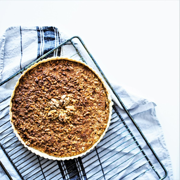 Tarte noix beurre salé (8)