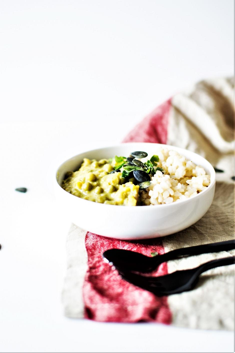 Curry de lentilles et légumes (1)