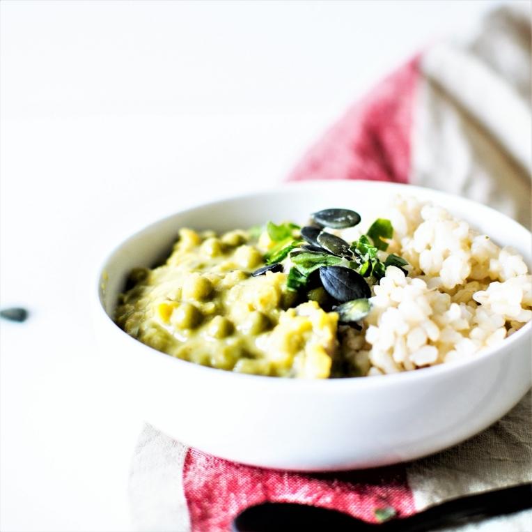 Curry de lentilles et légumes (2)
