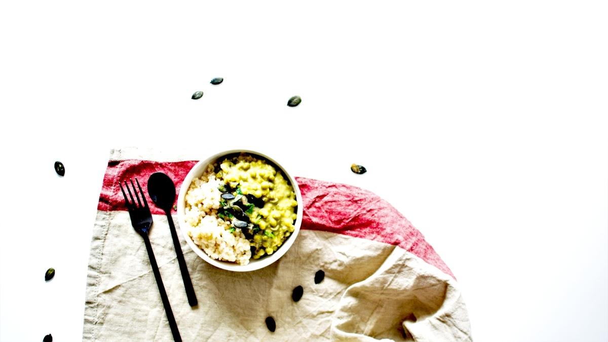Curry de légumes et lentilles