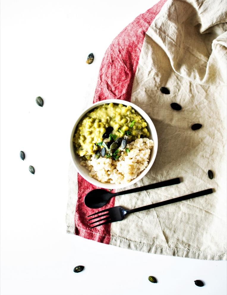 Curry de lentilles et légumes (7)
