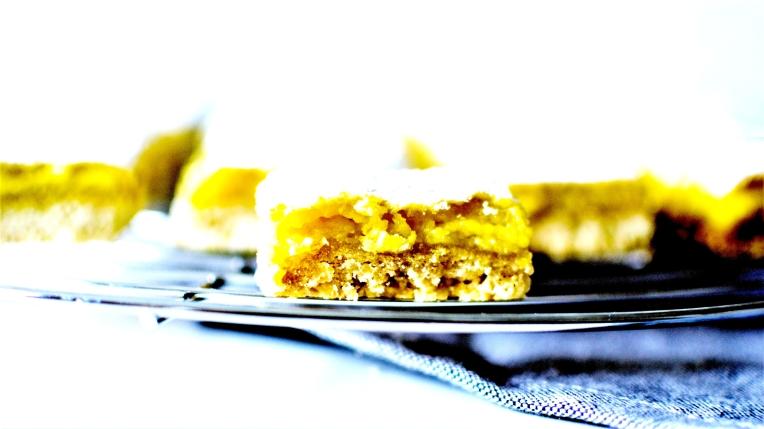 Carrés au citron (2)