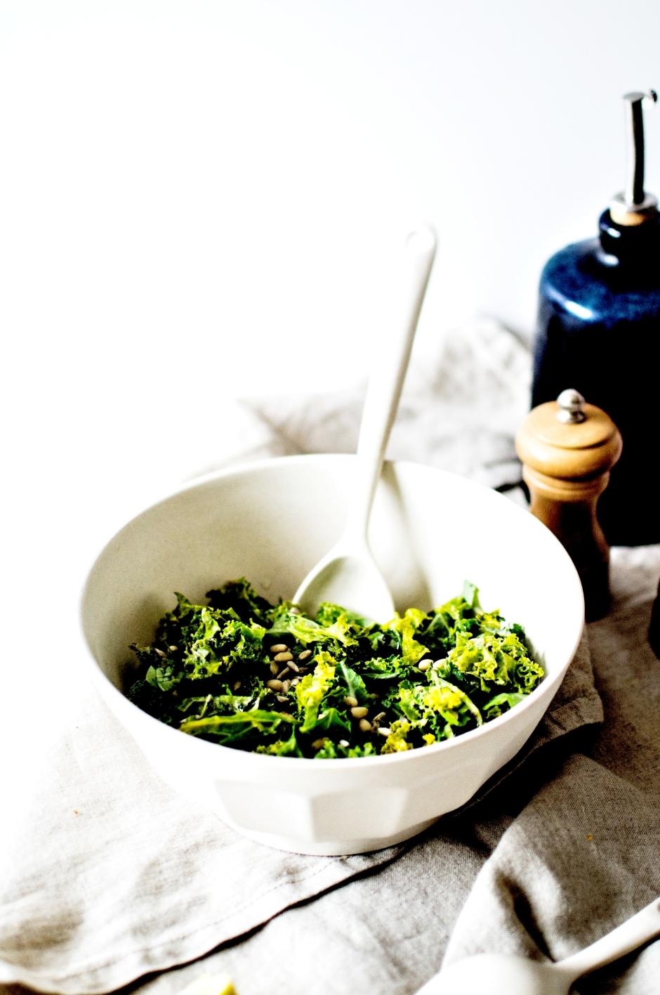 Salade kale mariné (2)