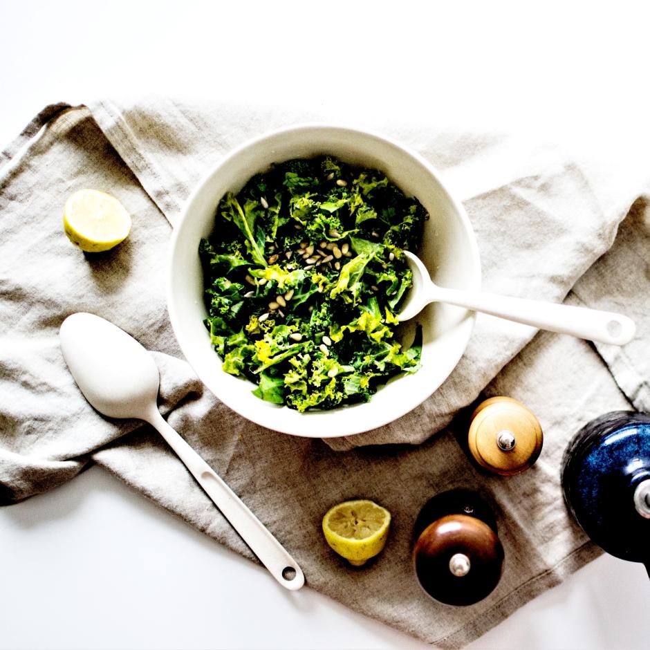Salade kale mariné (9)