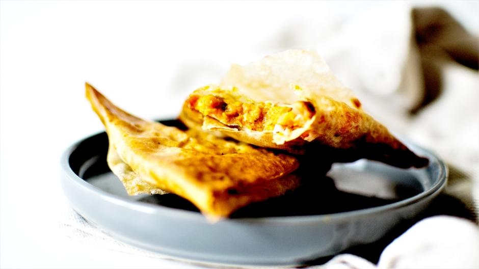 Samoussa patates douce poulet cacahuetes (5)
