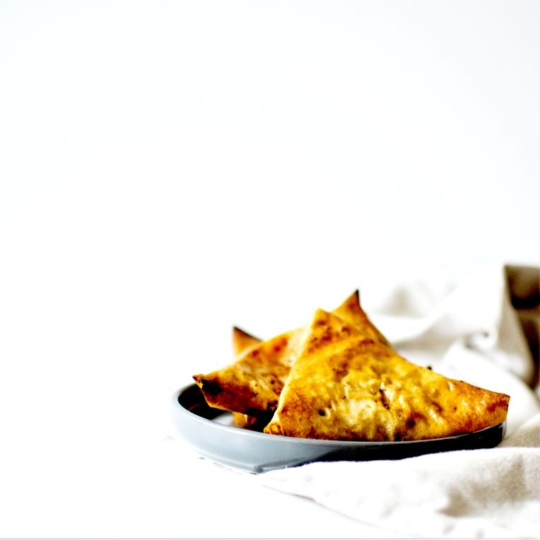 Samoussa patates douce poulet cacahuetes (6)
