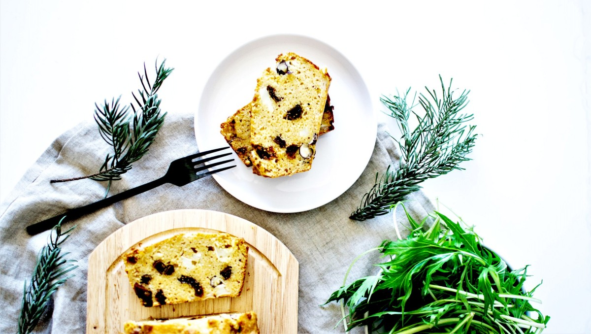Cake salé - Figues, chèvre & noisettes - Avec les préparations TADAAM