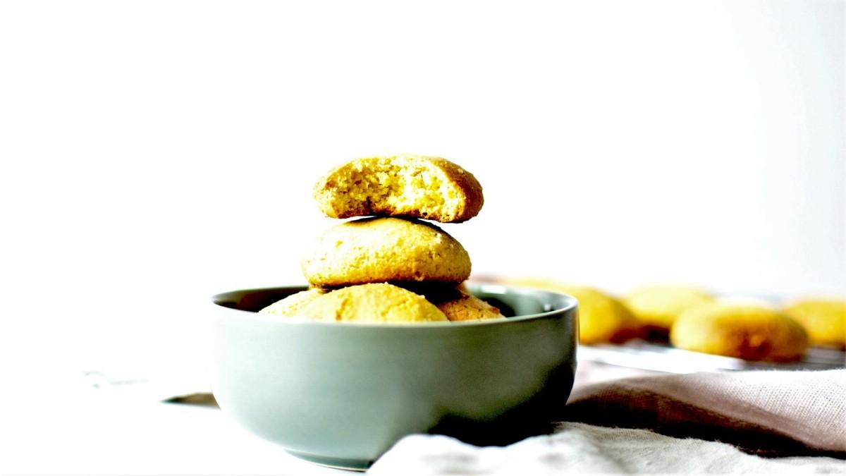 Biscuits moelleux - Aux Amandes et Jaunes d'œufs