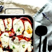 Lasagnes d'aubergines - aux légumes d'été