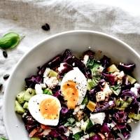 Salade de Chou-rouge & Feta