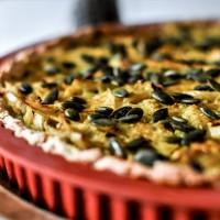 Tarte salée - Choucroute et curry