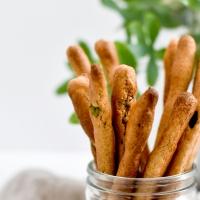 Gressins - Petit épeautre, huile d'olive et herbes