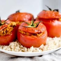 Tomates farcies - Recette végane