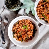 One pot pasta - Avec les derniers légumes d'été